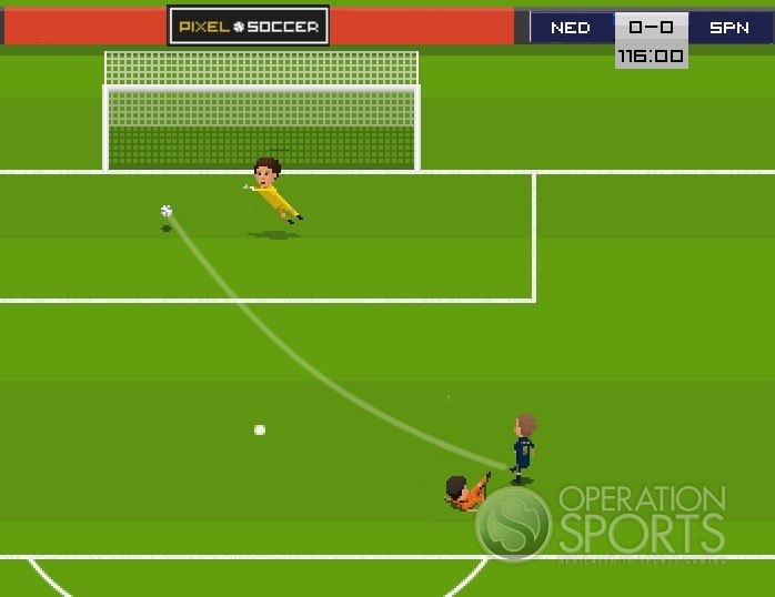Pixel Soccer Screenshot #2 for PC
