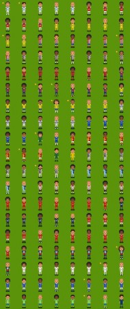 Pixel Soccer screenshot #3 for PC - Click to view
