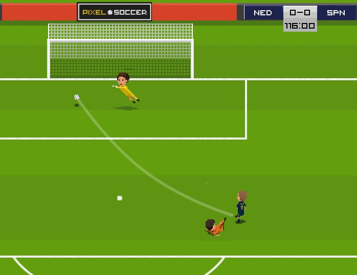 Pixel Soccer Screenshot #7 for PC