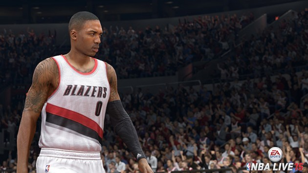 NBA Live 15 Screenshot #15 for PS4
