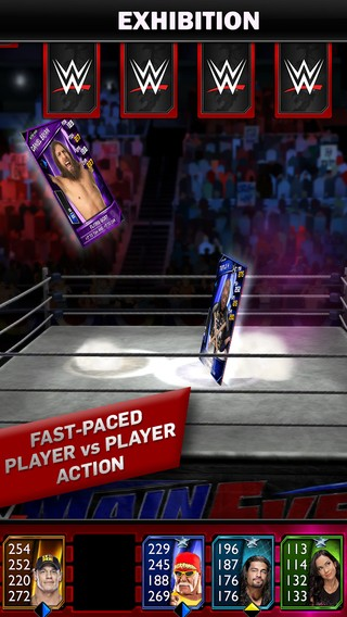WWE SuperCard Screenshot #1 for iOS