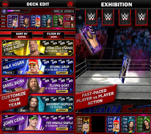 WWE SuperCard Screenshot #5 for iOS
