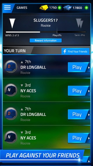 Tap Sports Baseball Screenshot #3 for iPhone, iPad