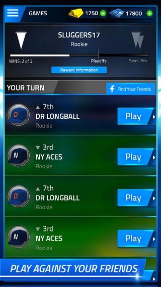 Tap Sports Baseball Screenshot #3 for iPhone, iPad