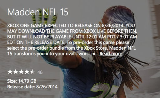 Madden NFL 15 Screenshot #329 for Xbox One