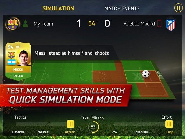 FIFA 15 Ultimate Team Mobile Screenshot #3 for iPhone, iPad, Android, iOS