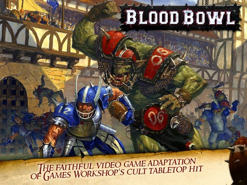 Blood Bowl Mobile Screenshot #1 for iPhone, iPad, iOS