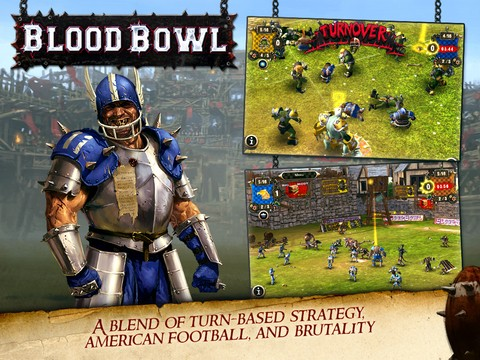 Blood Bowl Mobile Screenshot #2 for iPhone, iPad, iOS
