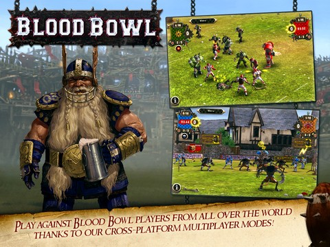 Blood Bowl Mobile Screenshot #3 for iPhone, iPad, iOS