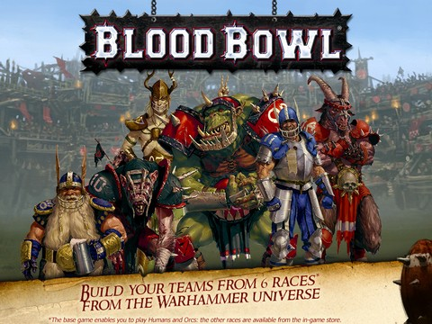 Blood Bowl Mobile Screenshot #4 for iPhone, iPad, iOS