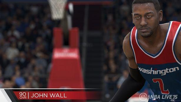 NBA Live 15 Screenshot #122 for PS4