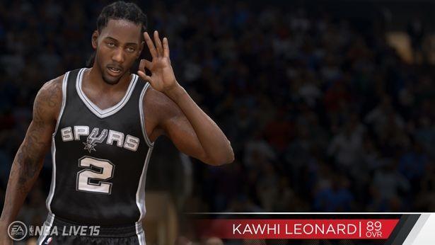 NBA Live 15 Screenshot #135 for PS4