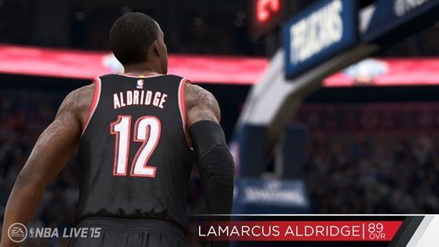 NBA Live 15 Screenshot #141 for PS4