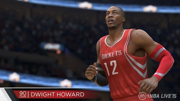 NBA Live 15 Screenshot #149 for PS4