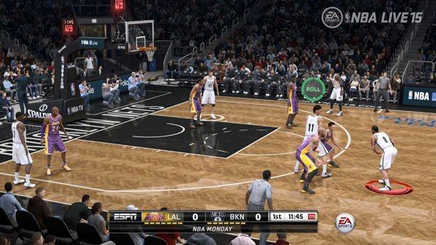 NBA Live 15 Screenshot #171 for PS4