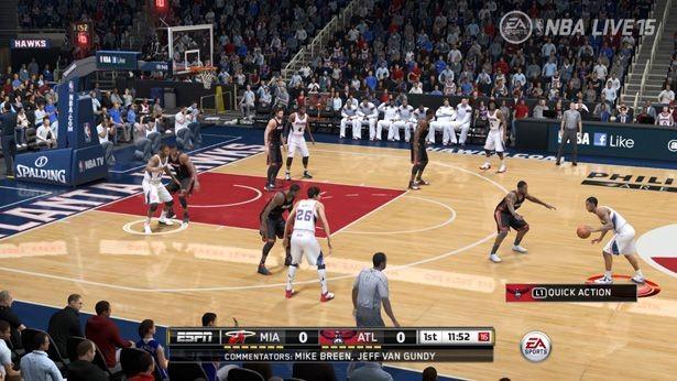 NBA Live 15 Screenshot #173 for PS4
