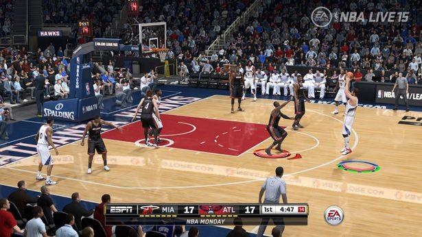 NBA Live 15 Screenshot #175 for PS4