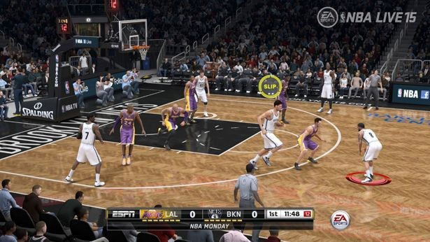 NBA Live 15 Screenshot #163 for Xbox One