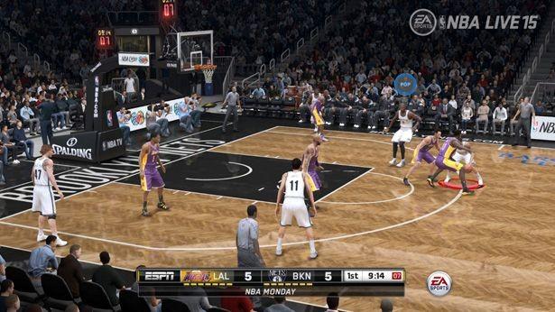 NBA Live 15 Screenshot #165 for Xbox One