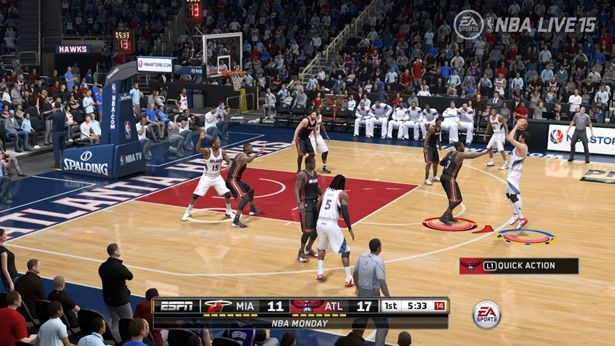 NBA Live 15 Screenshot #169 for Xbox One