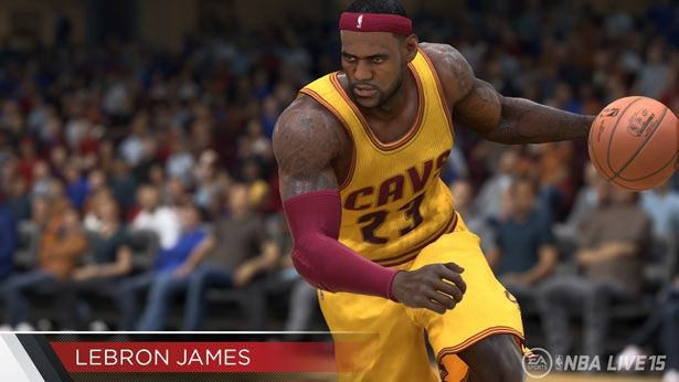 NBA Live 15 Screenshot #191 for PS4