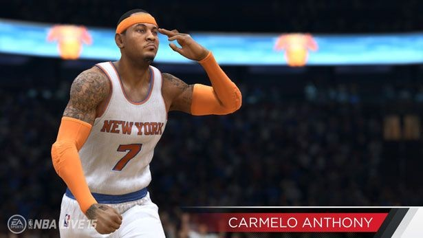 NBA Live 15 Screenshot #193 for PS4