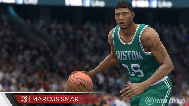 NBA Live 15 Screenshot #196 for PS4