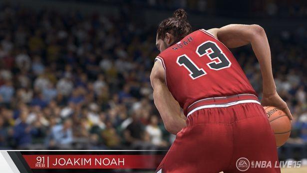 NBA Live 15 Screenshot #208 for PS4