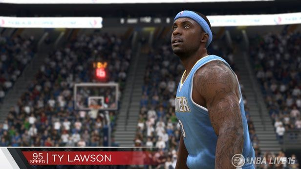 NBA Live 15 Screenshot #220 for PS4