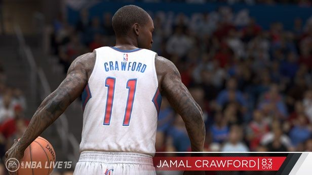 NBA Live 15 Screenshot #233 for PS4