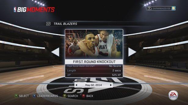 NBA Live 15 Screenshot #251 for PS4