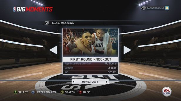 NBA Live 15 Screenshot #245 for Xbox One