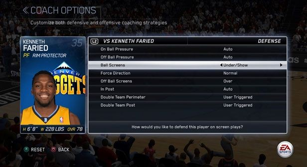 NBA Live 15 Screenshot #255 for PS4