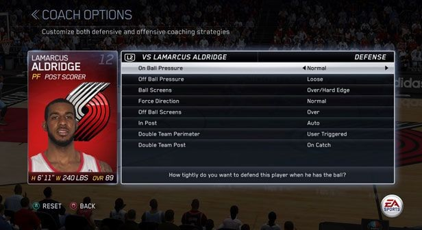 NBA Live 15 Screenshot #256 for PS4