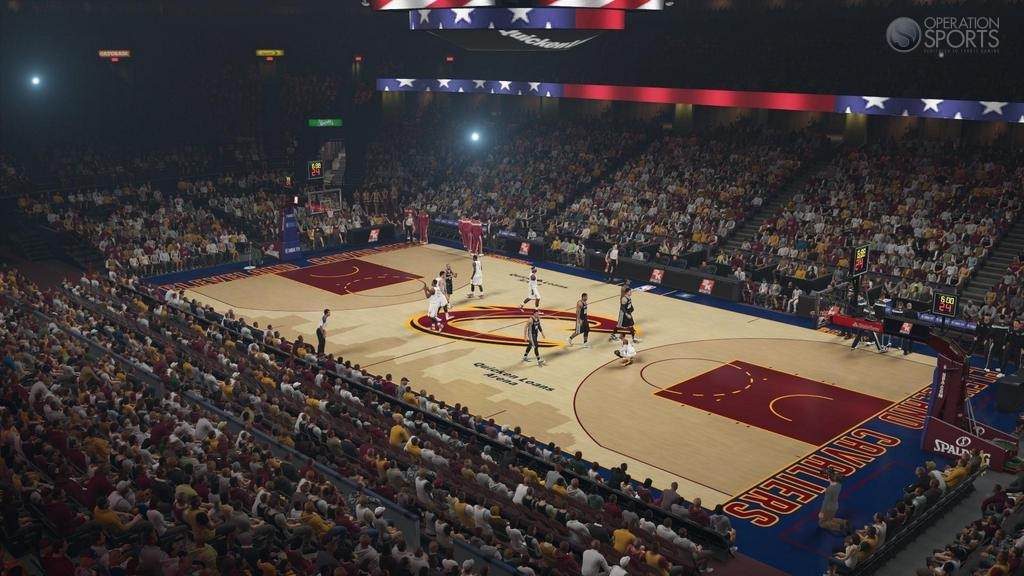 New Courts Available Now in NBA 2K15 For Cavs, Pelicans ...