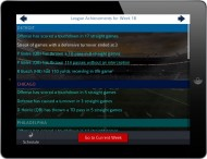 Pro Strategy Football 2014 screenshot #1 for iPhone, iPad, iOS - Click to view
