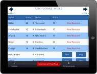 Pro Strategy Football 2014 screenshot #9 for iPhone, iPad, iOS - Click to view
