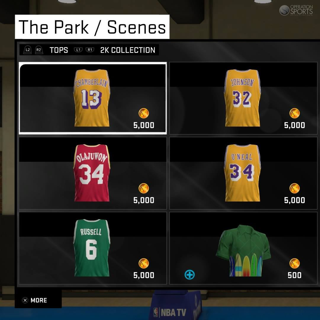 NBA Legend Jerseys Available Today Only in NBA 2K15 MyCAREER ... a341e030b