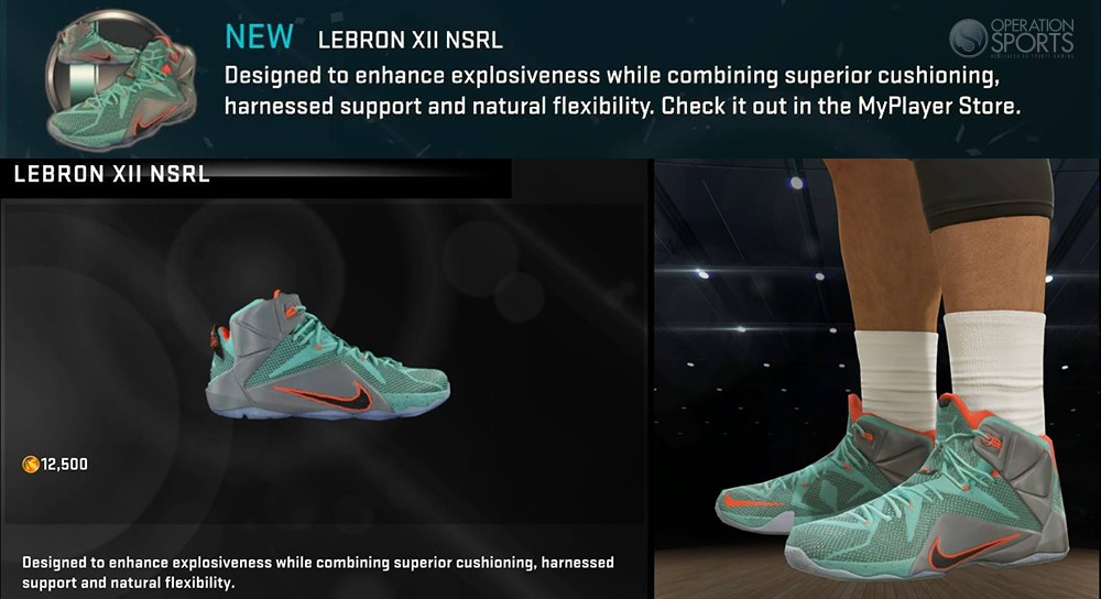 Lebron 12 Nsrl Available Now In Nba 2k15 Operation Sports