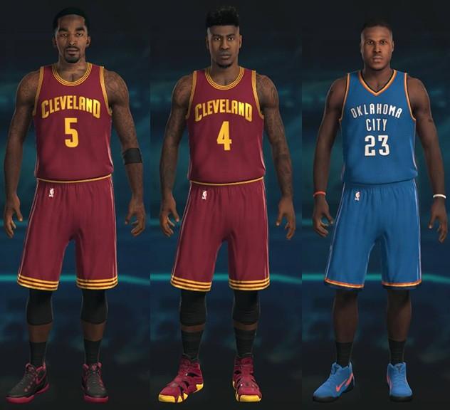 timeless design 48e44 18739 NBA 2K15 Roster Update Details (1-7-15) - Operation Sports