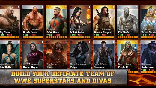 WWE Immortals Screenshot #1 for iOS