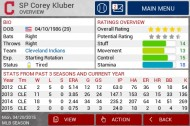 MLB Manager 2015 screenshot #2 for iPhone, iPad, Android, iOS - Click to view
