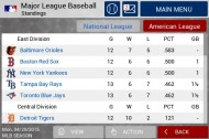 MLB Manager 2015 screenshot #3 for iPhone, iPad, Android, iOS - Click to view