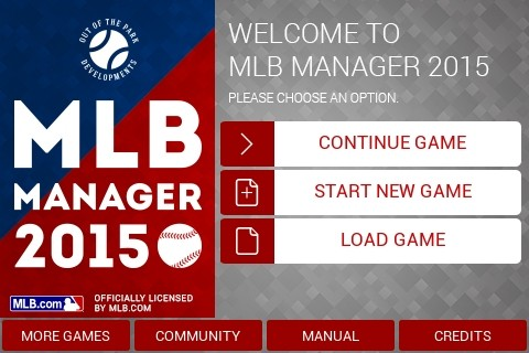 MLB Manager 2015 Screenshot #5 for iPhone, iPad, Android, iOS