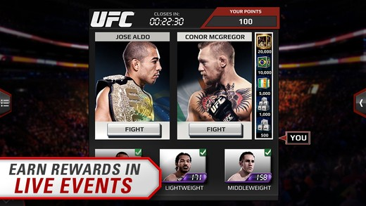 EA Sports UFC Mobile Screenshot #5 for iOS