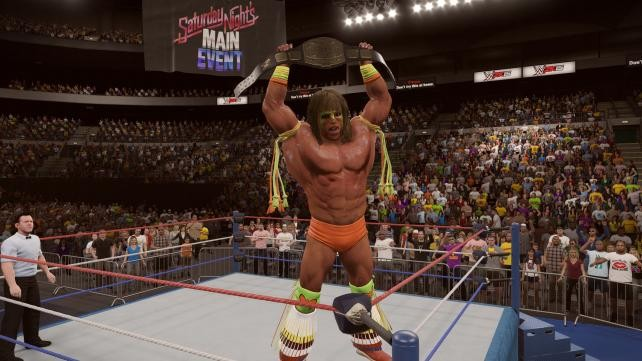 WWE 2K15 Screenshot #44 for PS4