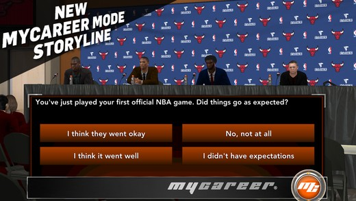 NBA 2K15 Mobile Screenshot #2 for iOS