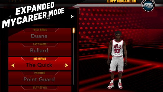 NBA 2K15 Mobile Screenshot #3 for iOS