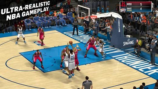 NBA 2K15 Mobile Screenshot #4 for iOS