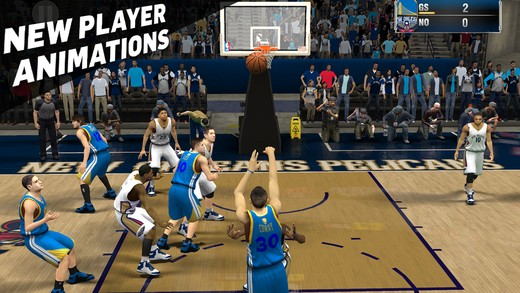 NBA 2K15 Mobile Screenshot #5 for iOS